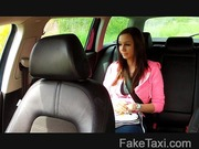 FakeTaxi - Natural big tits and tight pussy
