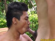 Piss fetish asian dudes outdoor peeing