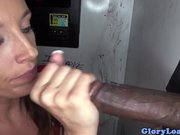 Jamie Jacksons two cocks at a gloryhole